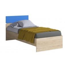 Кровать 900 (с основанием) FORMULA Дуб Сонома/Голубой