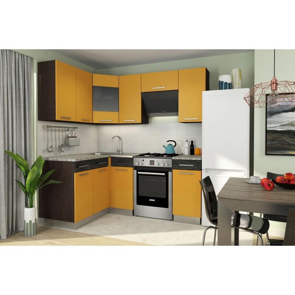 Кухонный гарнитур АЛИСА 11 угловая Манго/Венге