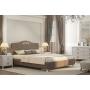 Кровать Adelina 1 Ажур 22 коричневая