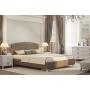 Кровать Adelina Ажур 22 коричневая