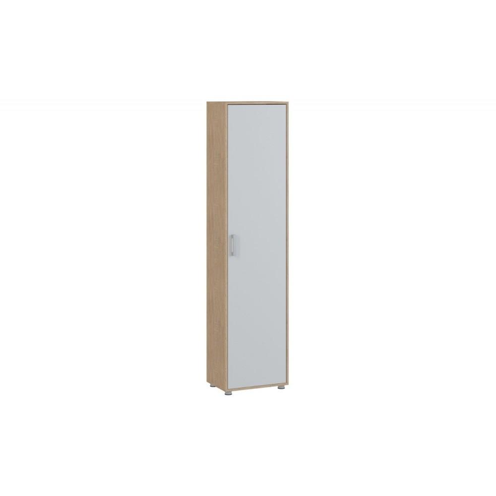 Шкаф ENTER 1 Дуб сонома/Белый