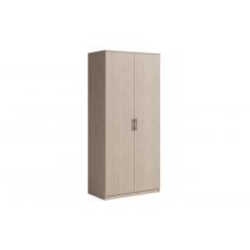 Шкаф 2 двери SVETLANA Белый/Дуб сонома