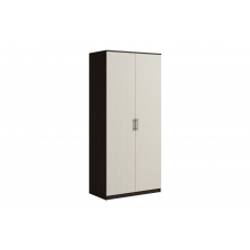 Шкаф 2 двери SVETLANA Венге/Дуб молочный