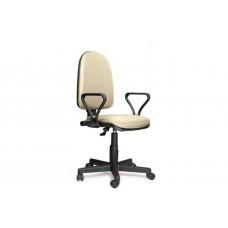 Кресло оператора Prestige Lux gtpPN/ Z21 кожзам бежевый