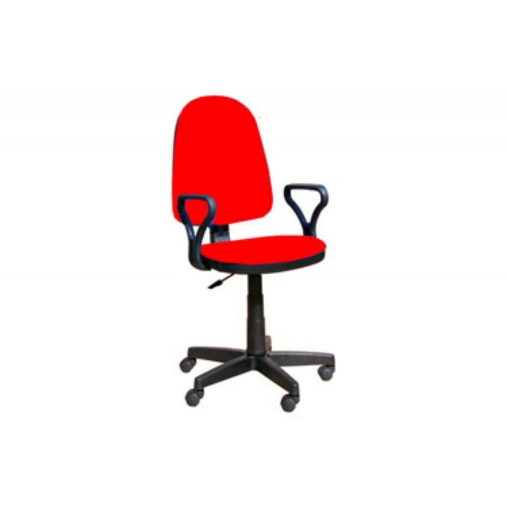 Кресло оператора Prestige Lux gtpPN/ S2 красный