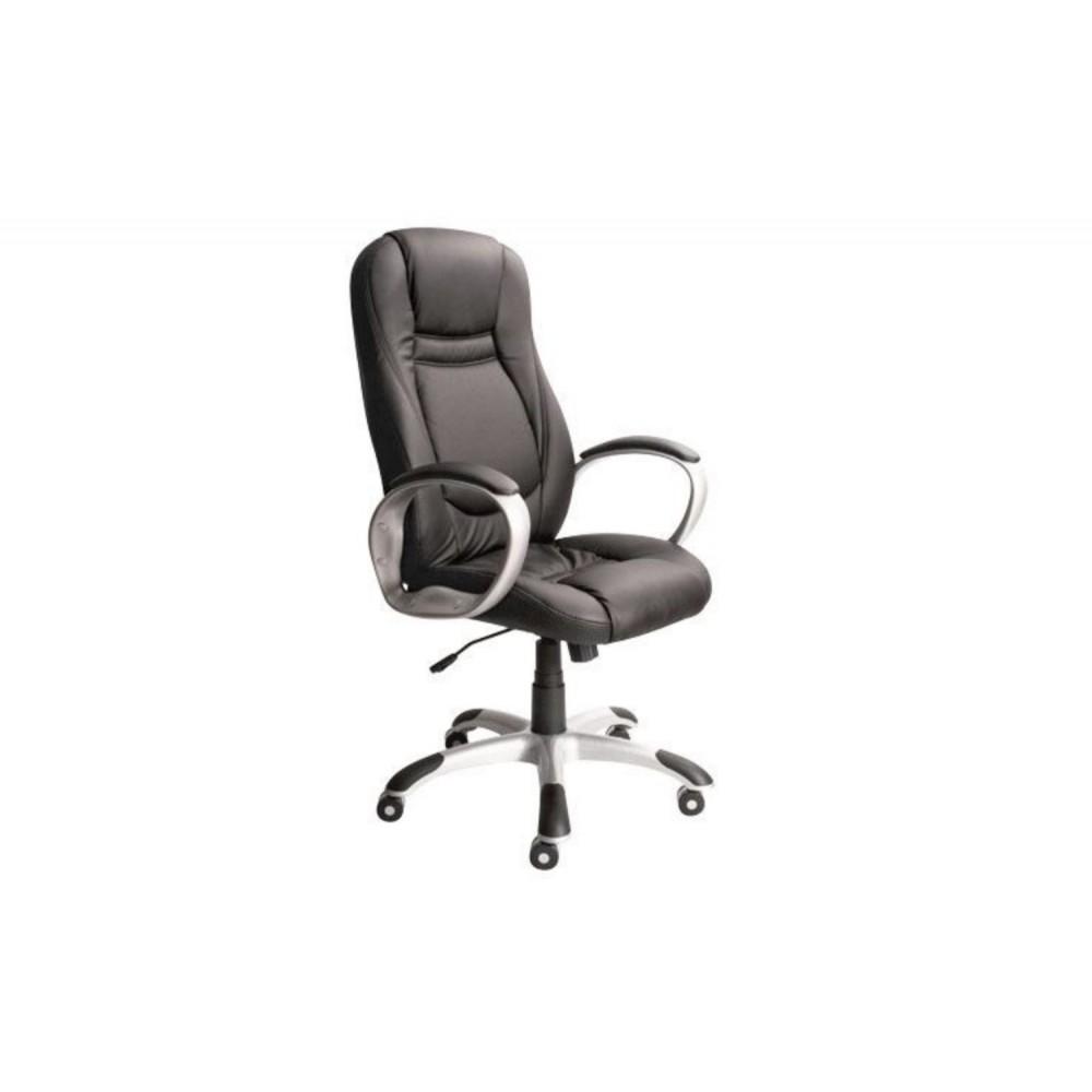 Кресло руководителя Gloria PLN PU01 черный