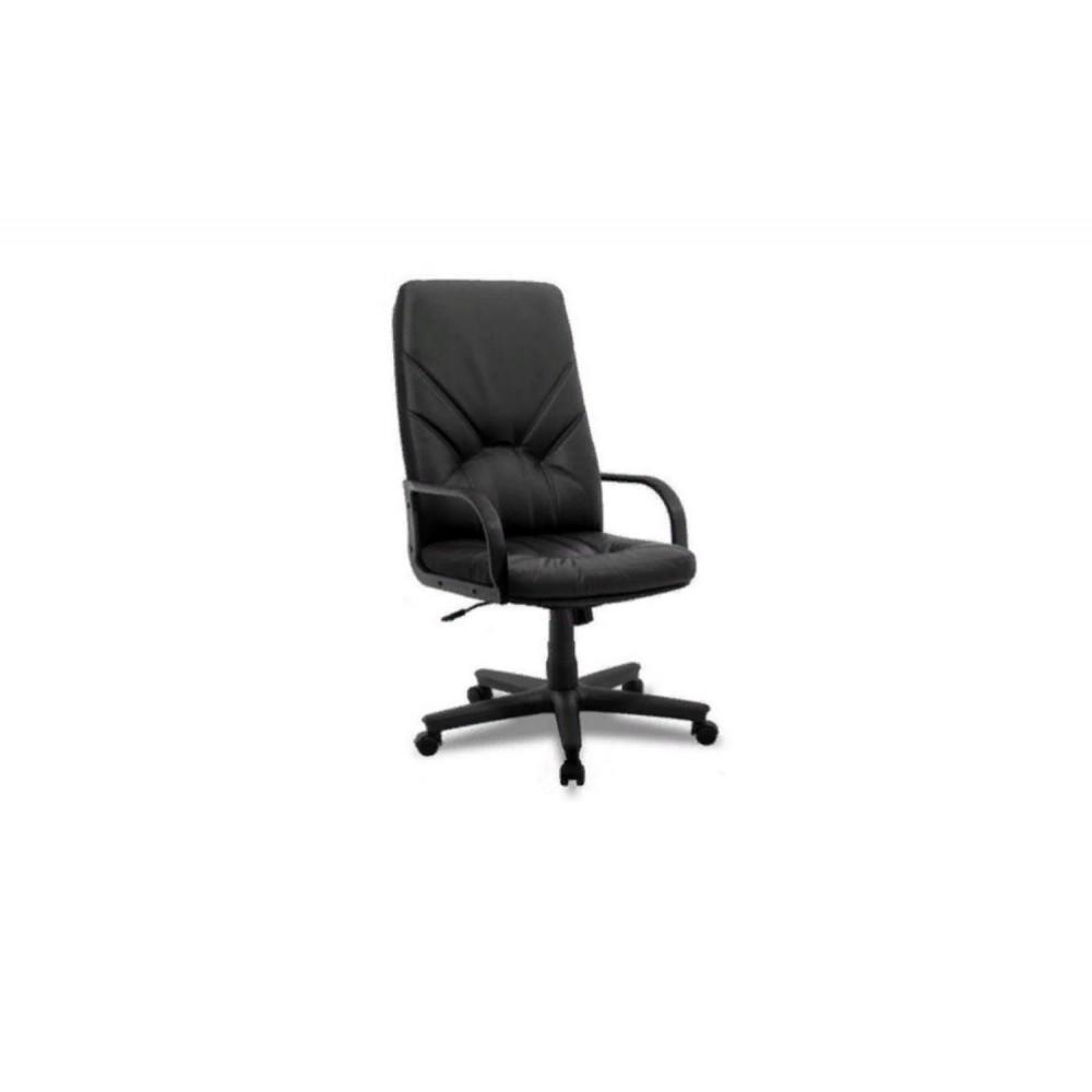 Кресло руководителя Manager DF PLN PU01 черный