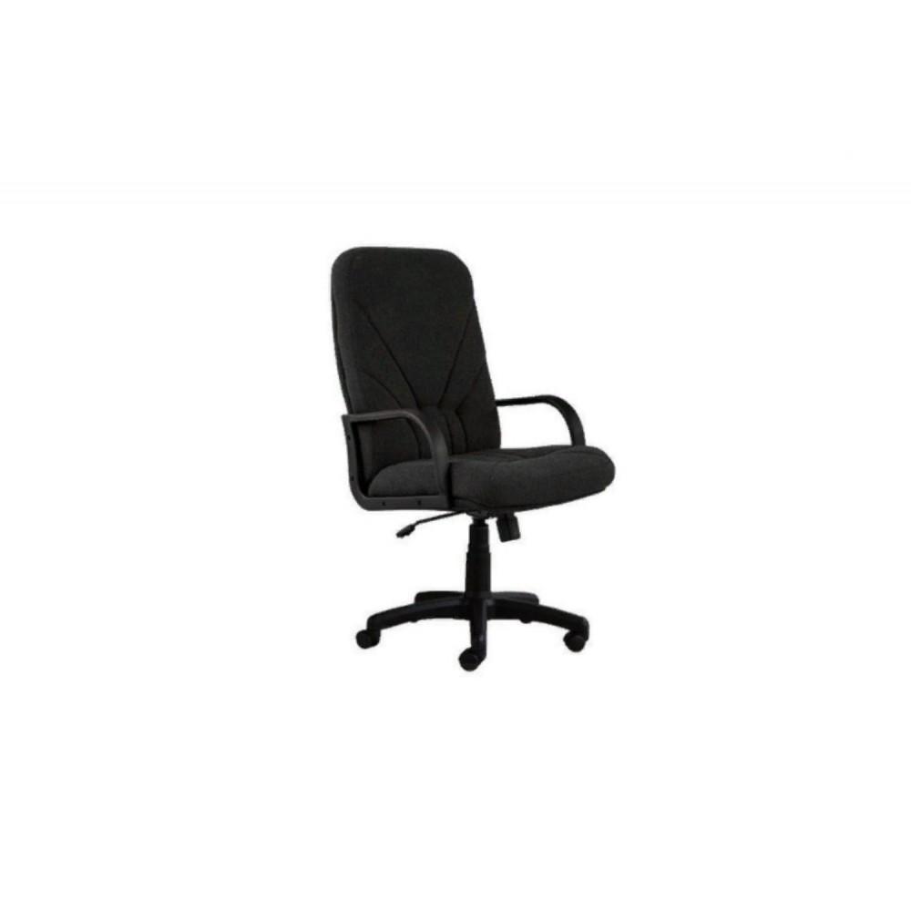 Кресло руководителя Manager DF PLN ткань MN14  черный