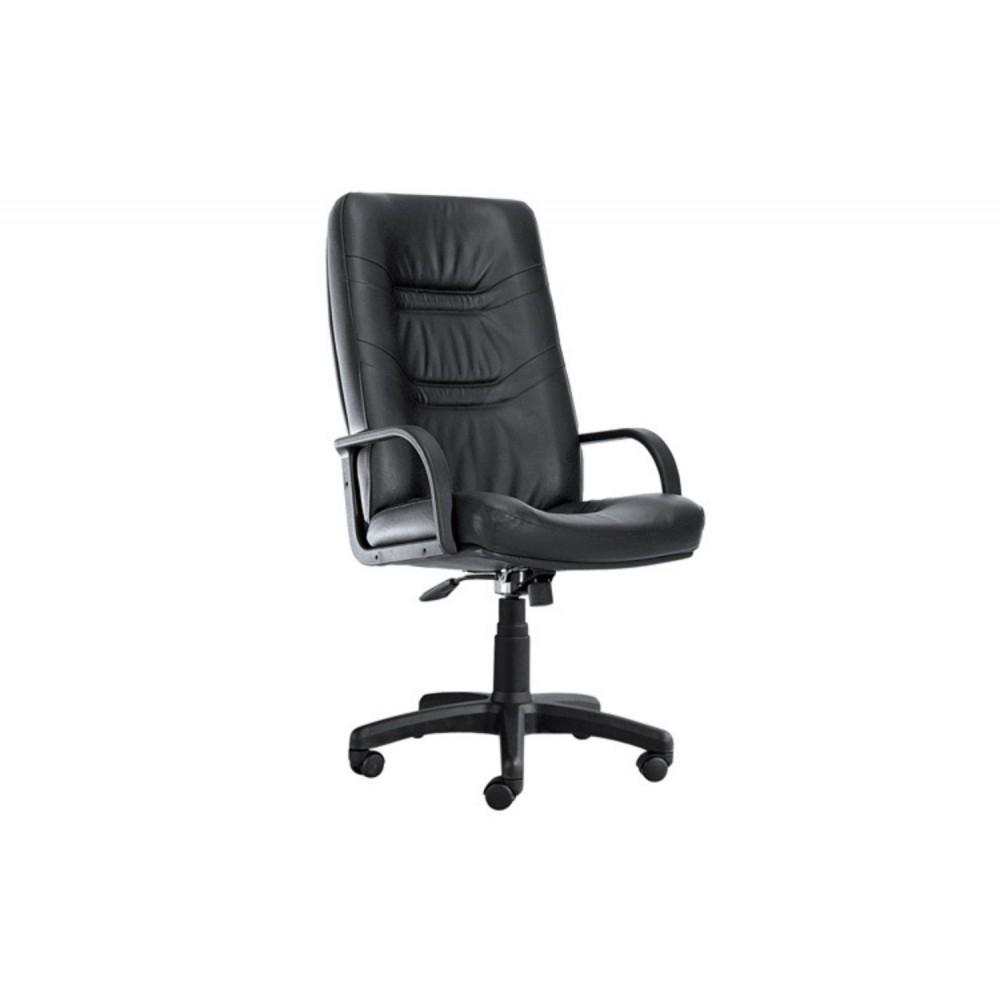 Кресло руководителя Minister PLN PU01 черный