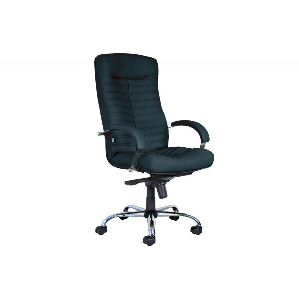 Кресло руководителя Orion Steel Chrome-st PU01 черный