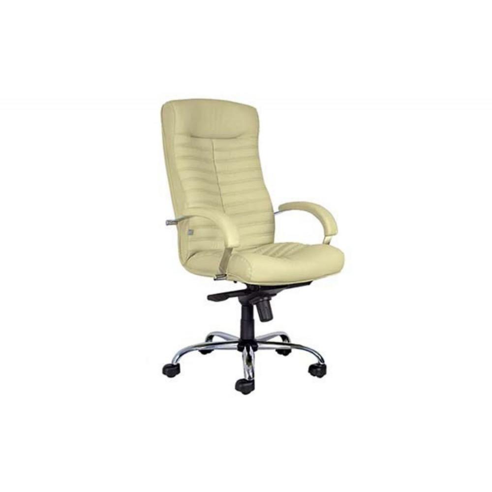 Кресло руководителя Orion Steel Chrome-st PU16 бежевый
