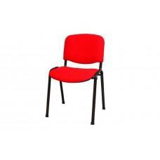 Стул офисный Iso black S2 красный