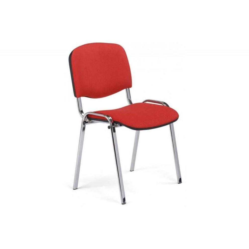 Стул офисный Iso chrome S2 красный